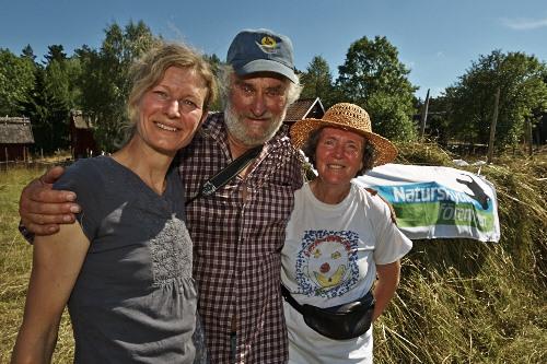 från vänster Tove, Lars Gunnar  Foto: Ola