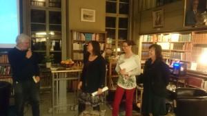 Från Vänster  Lars-Gunnar Bråvander, Lena Wennberg, Helene Karlqvist och Susanne Rundström